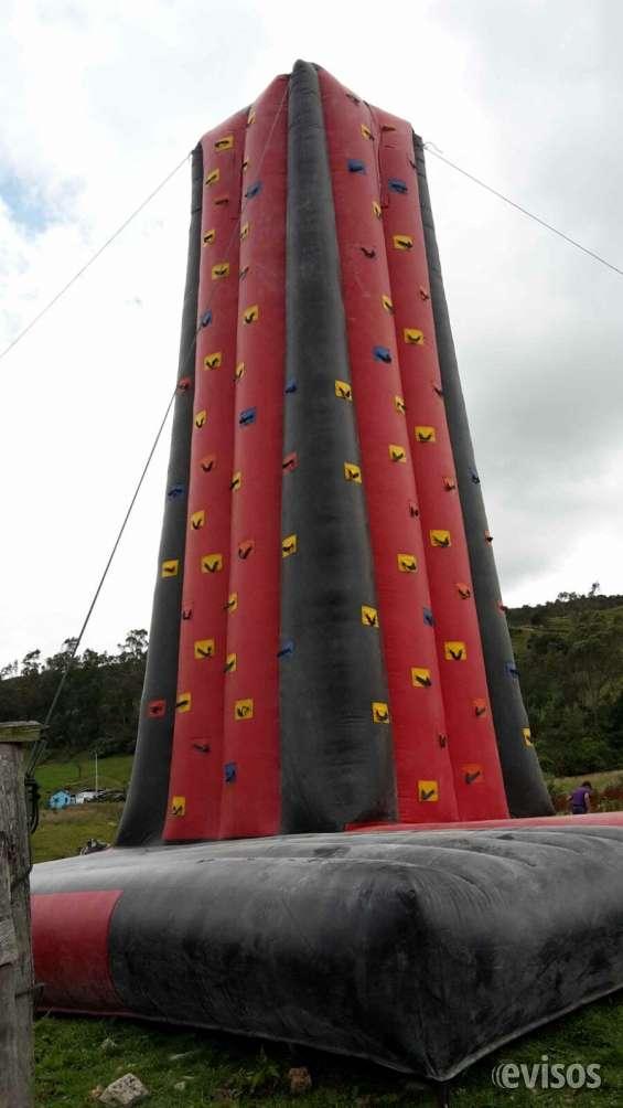 Alquiler de torre de escalar inflable
