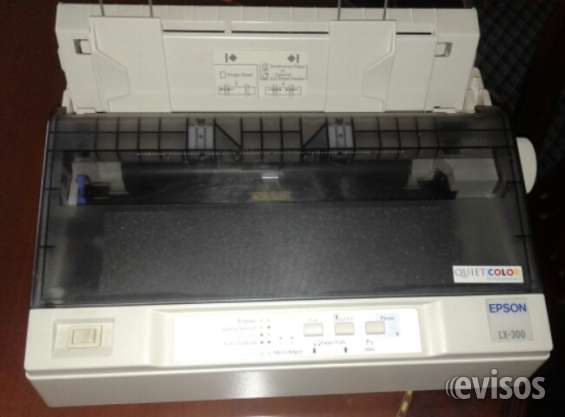 Impresora epson lx 300. casi nueva.