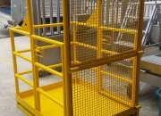 Plataformas cestas para montacargas