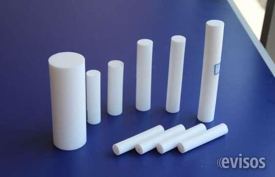 Barras cilindricas de plasticos de ingenieria
