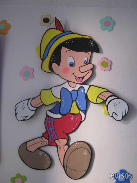 Pinocho en foami