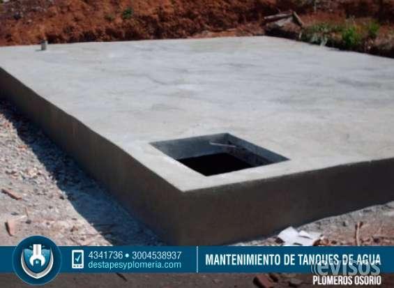 Mantenimiento de tanques subterraneos