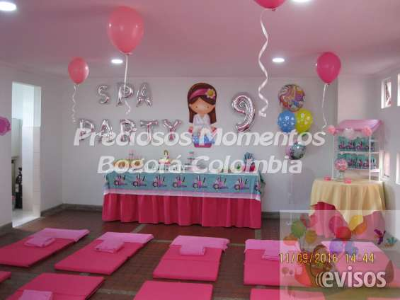 Spa party para niñas