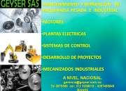 Mantenimiento y reparación   de maquinaria pesada  e  industrial