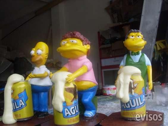 Venta de muñecos de los simpson