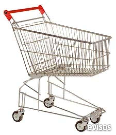 Carros metalicos para supermercados y urbanizaciones medellin