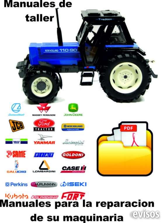 Manuales reparacion tractores - cosechadoras