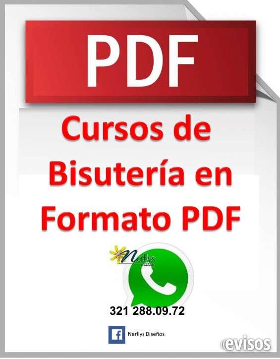 9dbc10d05dc5 Cursos de bisuteria en formato digital (pdf) se envían por correo ...