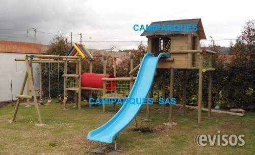 Fabricacion de parques infantiles en madera