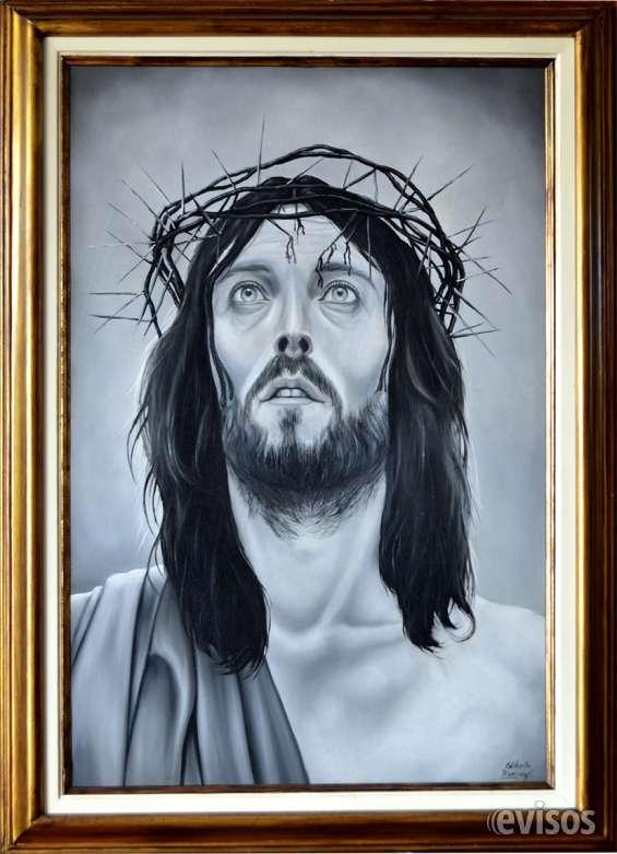 Cuadro de divino rostro de jesus