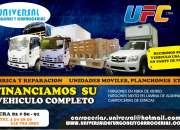 Fabrica  y reparacion de furgones y carrocerias.