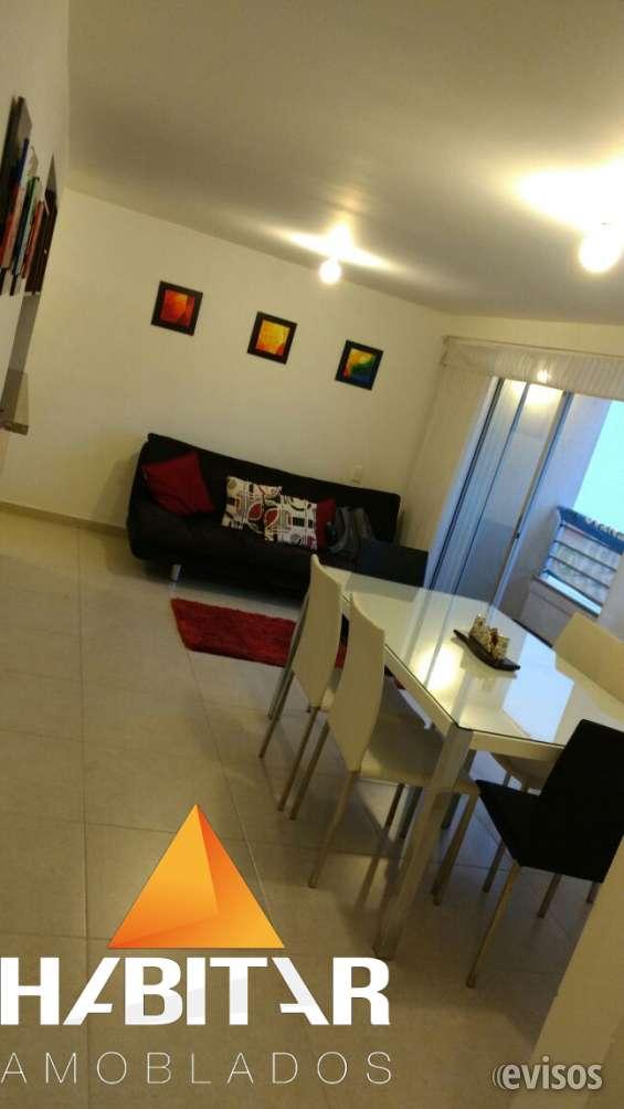 Apartamento amoblado 3 hab, conjunto con zona social. cañaveral