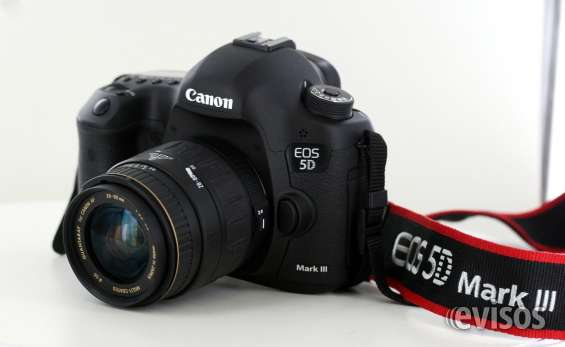 Venta nuevo canon eos 5d mark iii dslr camera con 24-70mm lente $1200usd