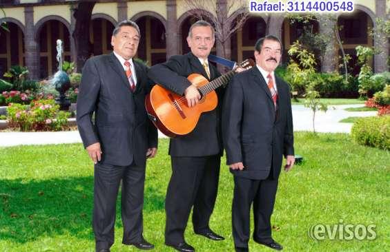 Trio musical - trio cortes, serenatas bogota