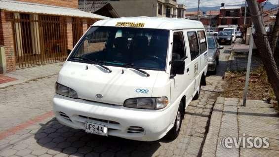 Vendo camioneta escolar hyundai h100