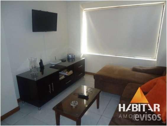 Alquiler temporal apartamento en cabecera 2 habitaciones - bucaramanga