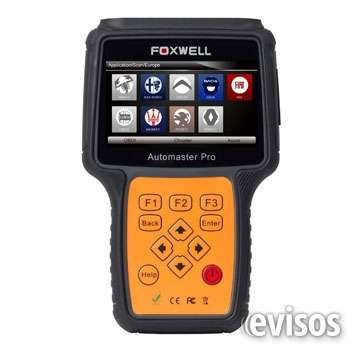 Scanner automotriz foxwell nt644 pro full