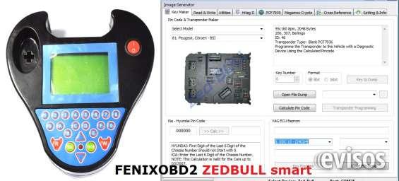 Programador de llaves zedbull profesional feixobd2
