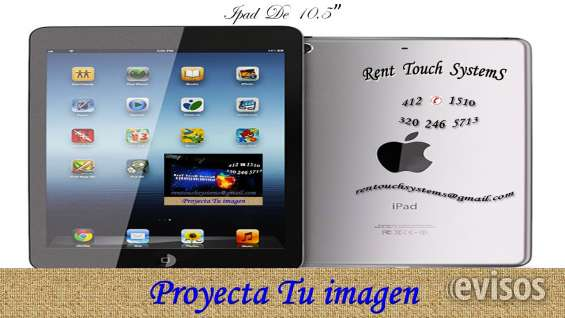 Alquiler de ipad tablet 320 2465713 pantallas led bogotá