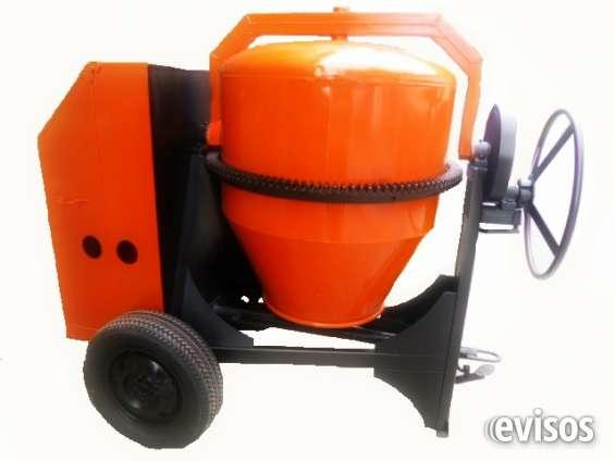 Mezcladoras para concreto jd, capacidad dos bultos