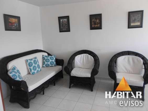 Alquiler temporal apartamento amoblado 3 hab, cañaveral excelente precio