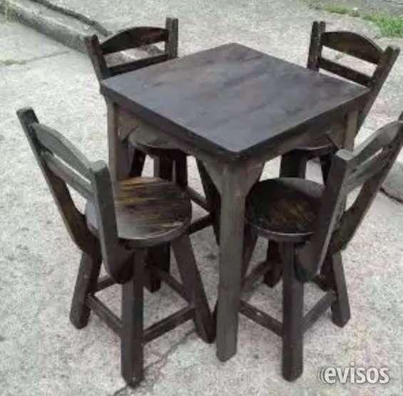 Mesas y sillas para bares y restaurantes
