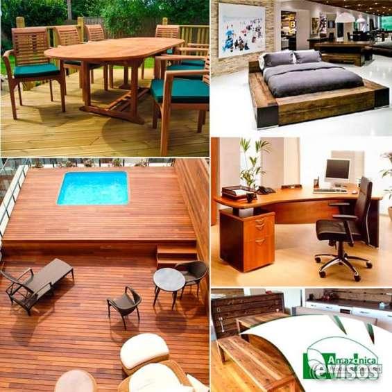 Fabrica de muebles, pisos, deck y casas en madera