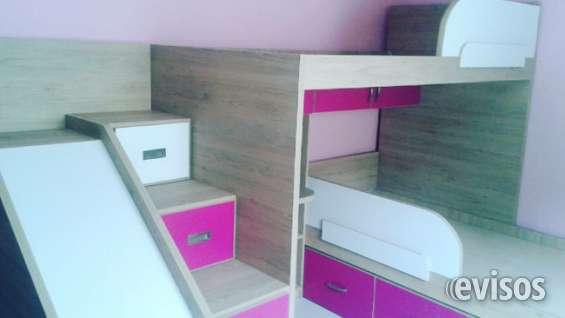 Juegos de cuarto infantil, muebles modulares