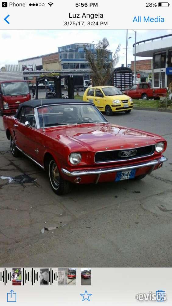 Ford mustang clásico modelo 66
