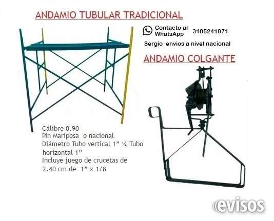 Venta de andamio tubular metalicos