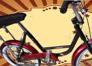 Nuevas, de fábrica, espectaculares bicicletas monaretas de fabrica