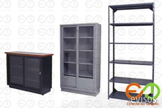 Bibliotescas y folderamas metalicos nuevos excelente precio 3166560308