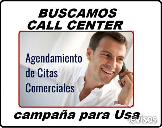 Buscamos un call center para campaña de citas comerciales para los estados unidos