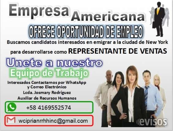 Empresa estadounidense busca personal