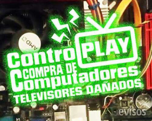 ¡compro tv's lcd, led, smart, computadores a domicilio!