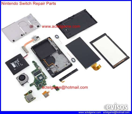 Nintendo switch repair parts spare repalcement partes de refacción piezas de repuesto