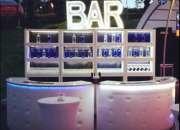 Barra movil, bartender show,barman, cocteles.