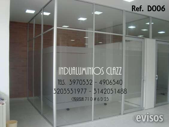 Division para oficina vidrio de seguridad
