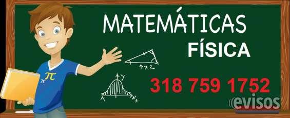Clases personalizadas física y matemáticas a domilicio, bucaramanga, giron, floridablanca