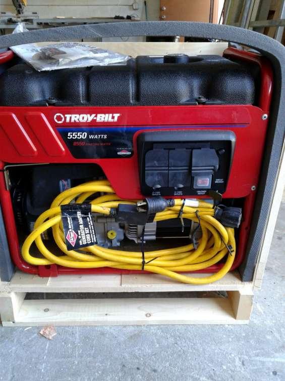 Planta generador troy-bilt bring stratton altacalidad industrial a gasolina