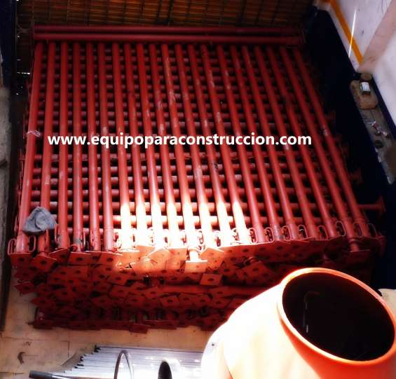 Parales metálicos para construcción