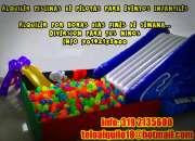 Alquiler piscinas de pelotas para eventos infantiles 3192135600
