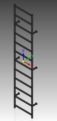 Escaleras tipo gato de colombia