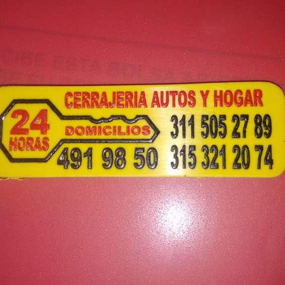 Abrimos carros cel, 311-5052789