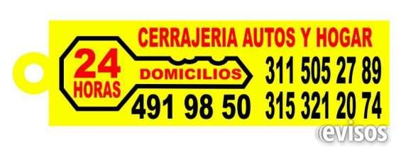 Cerrajeria carros  cel, 311-5052789