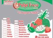 Pulpi Fresc venta Pulpa de fruta sin consevantes