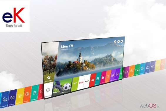 "Televisor lg led 49""lj550 full hd smart tv"