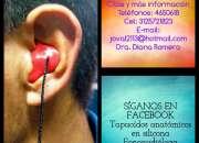 Tapaoídos tapa oídos protectores auditivos tapones oídos anatomicos en silicona