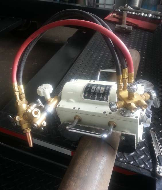 Nueva, biseladora magnética automática cg2-11c llama de corte oxigeno-acetileno (u oxigeno
