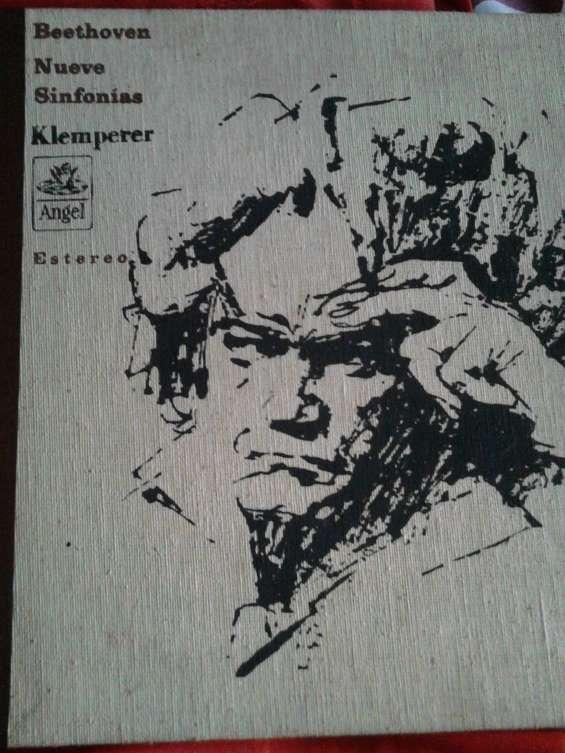9 sinfonias de beethoven. edición limitada. vinilo.